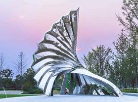 景观雕塑,与环境融为一体的雕塑