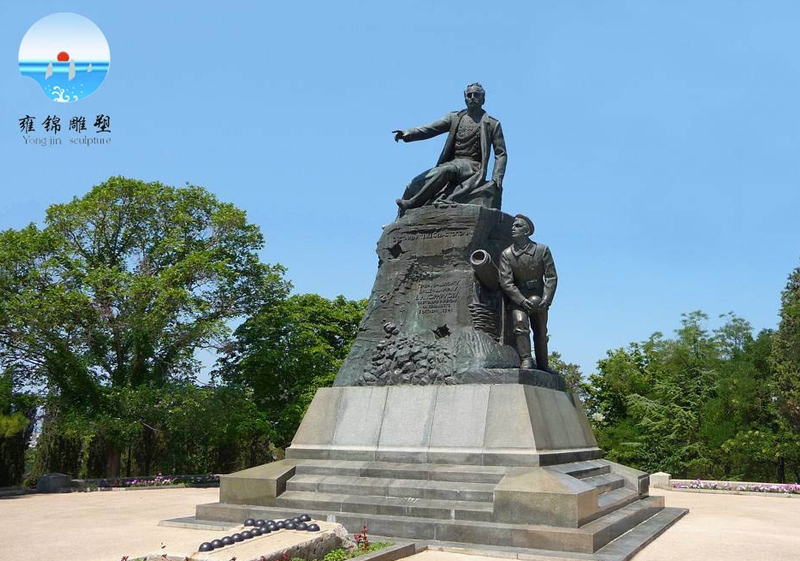 《海军将军水手雕塑》