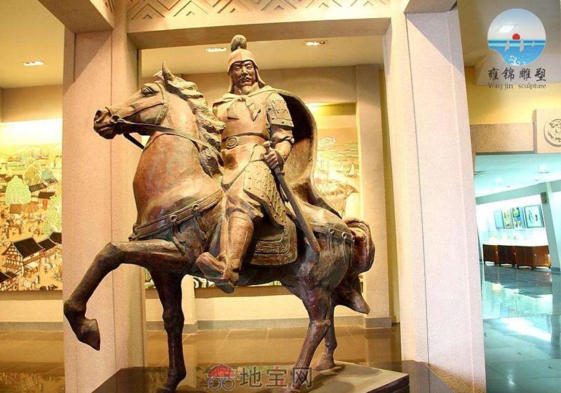 南昌博物馆-人物雕塑