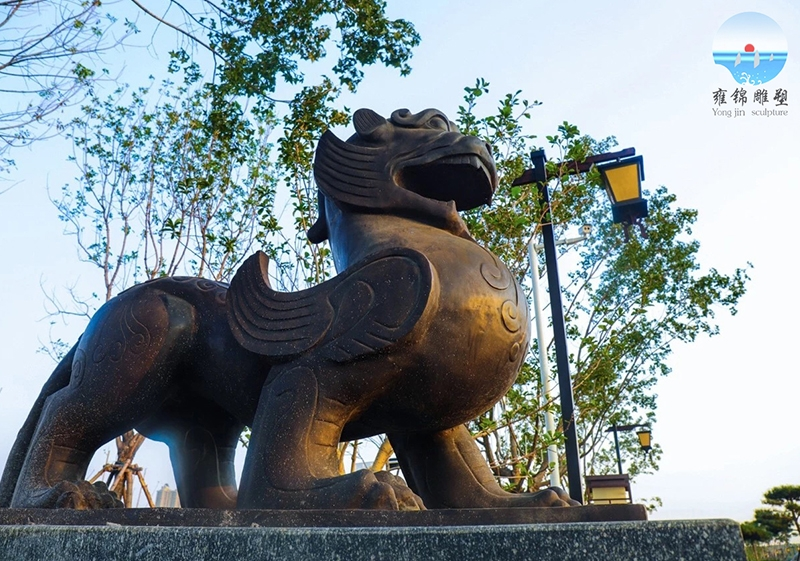 貔貅雕塑    铸铜工艺