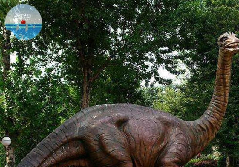恐龙水泥类雕塑