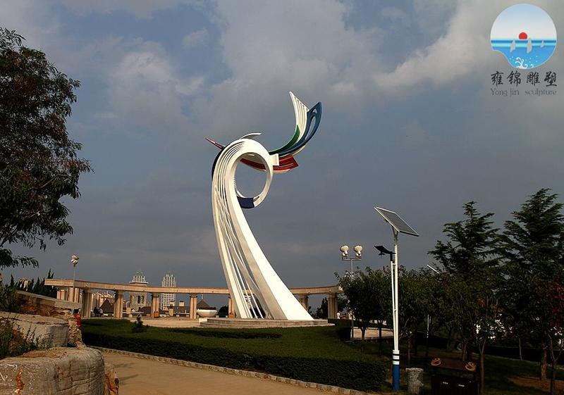 烟台凤凰山主题雕塑