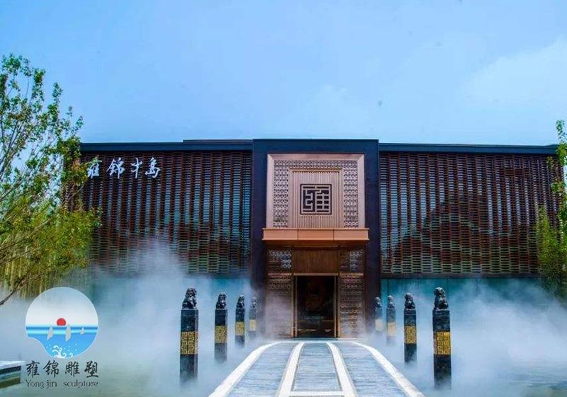 淄博雍锦半岛拴马桩