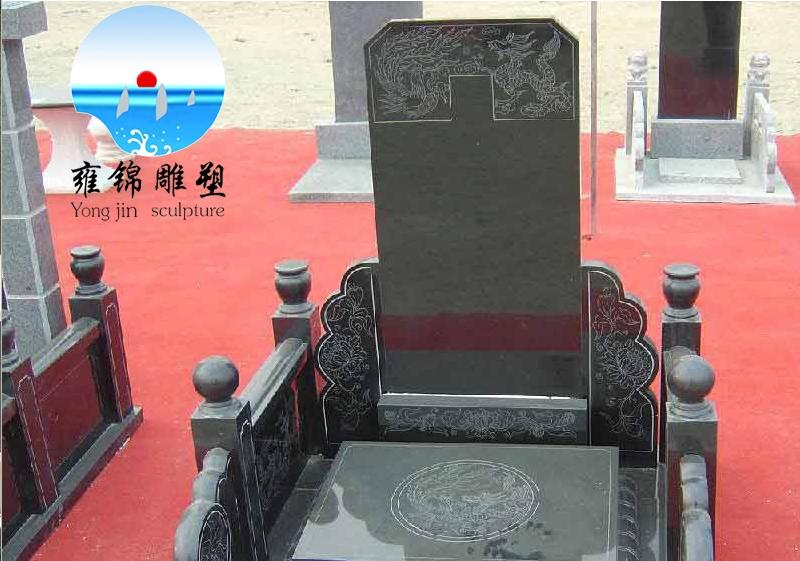 中国黑石材效果