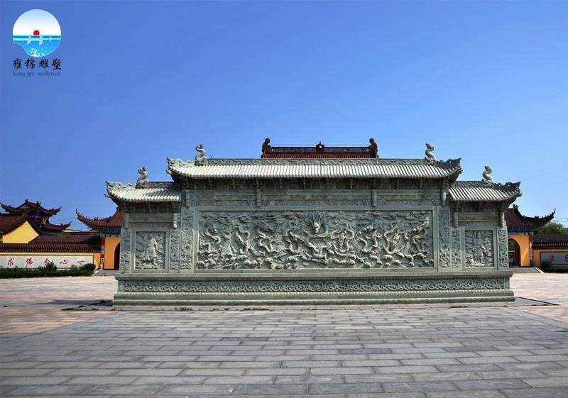 定慧寺牌楼—古建牌楼栏板