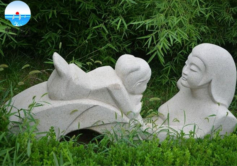 寿光玫瑰公园《母子》